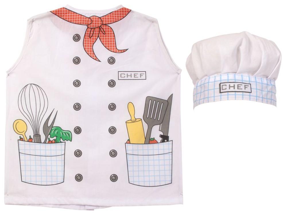 Pechera y gorro genero modelo chef-2420982 CHEF