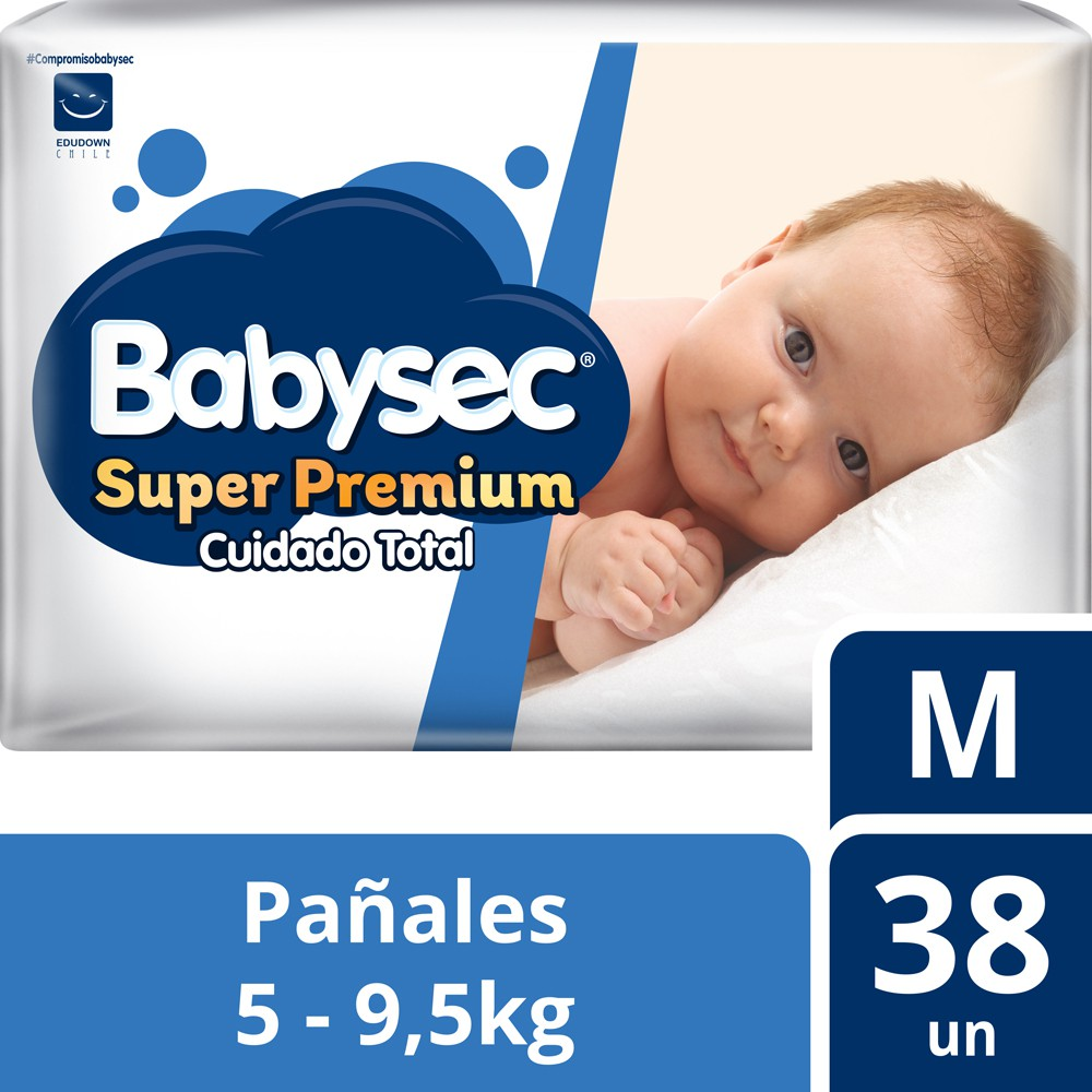 Pañal Super Premium M