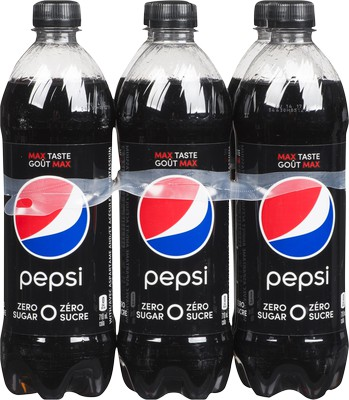 Zero sugar cola