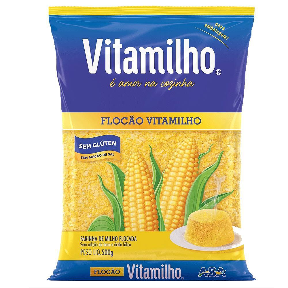 Farinha de milho flocão vitamilho 500g