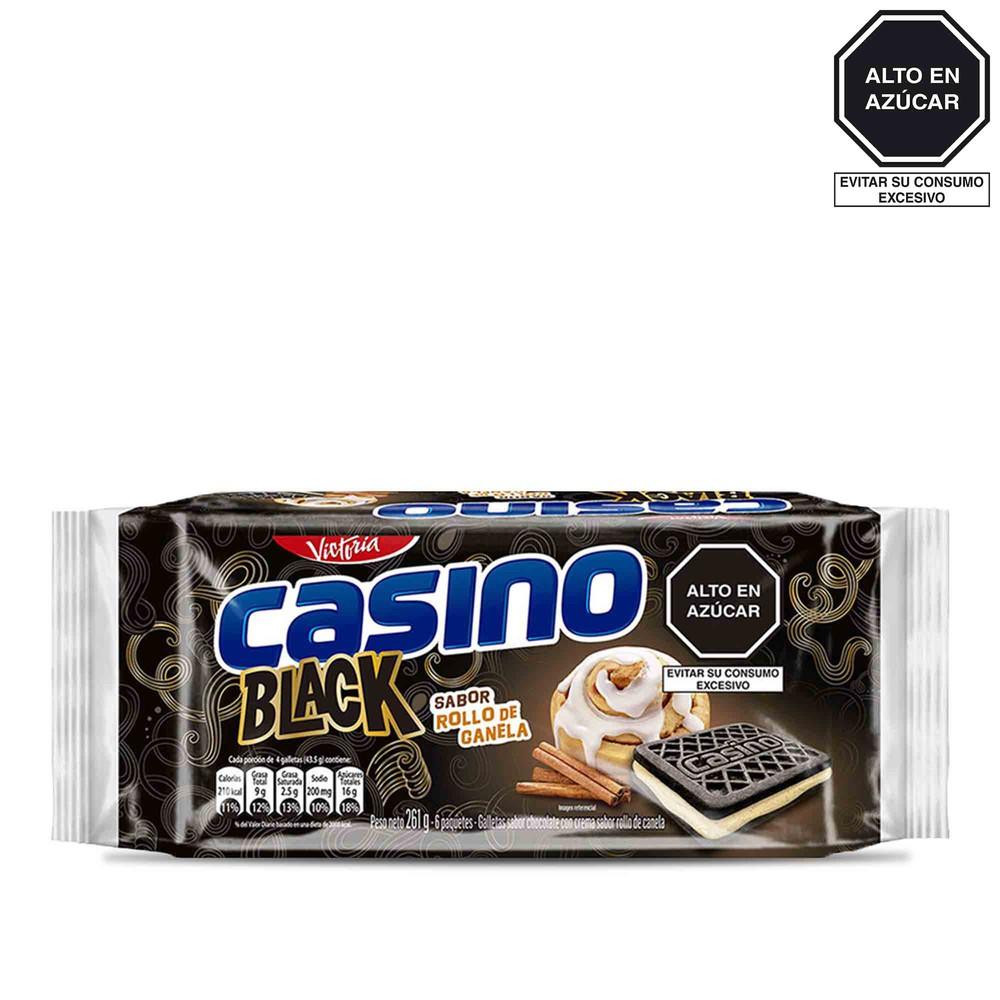 Galleta de chocolate con crema canela