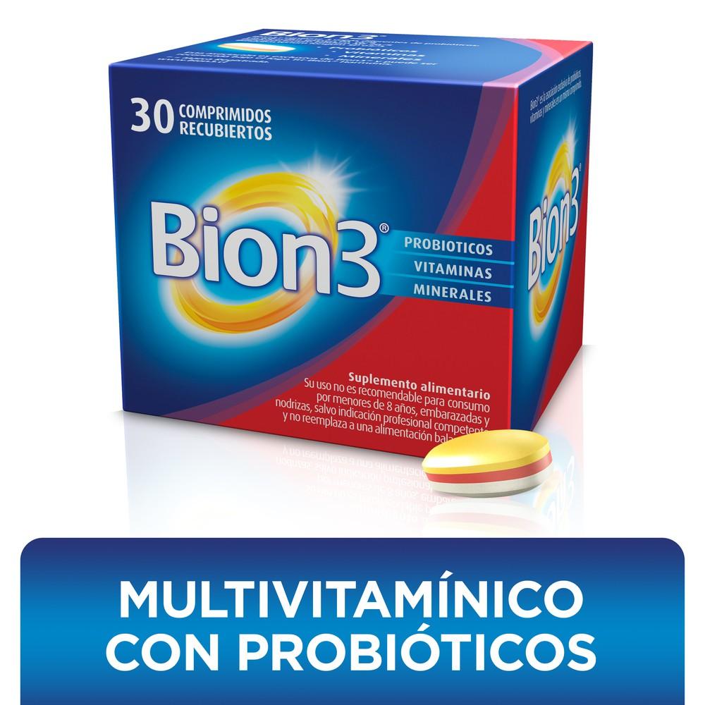 Vitaminas, minerales y probióticos