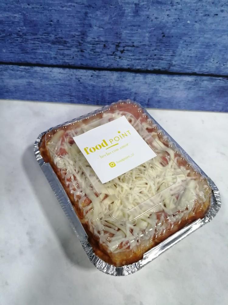 Lasaña bolognesa Porción individual