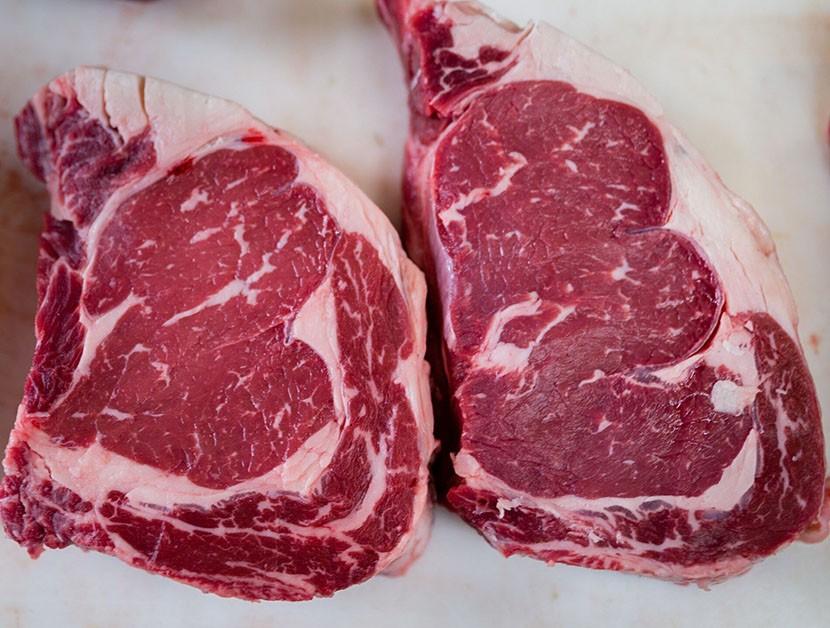 Ribeye Beef approx 1.25 lbs; price per lb