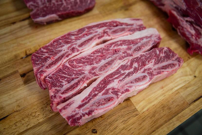 Short rib angus approx 1 lb; price per lb