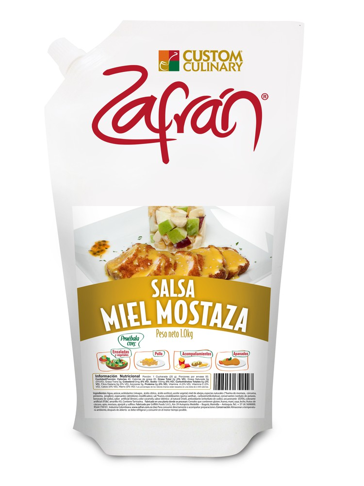 Salsa miel mostaza 1 KG