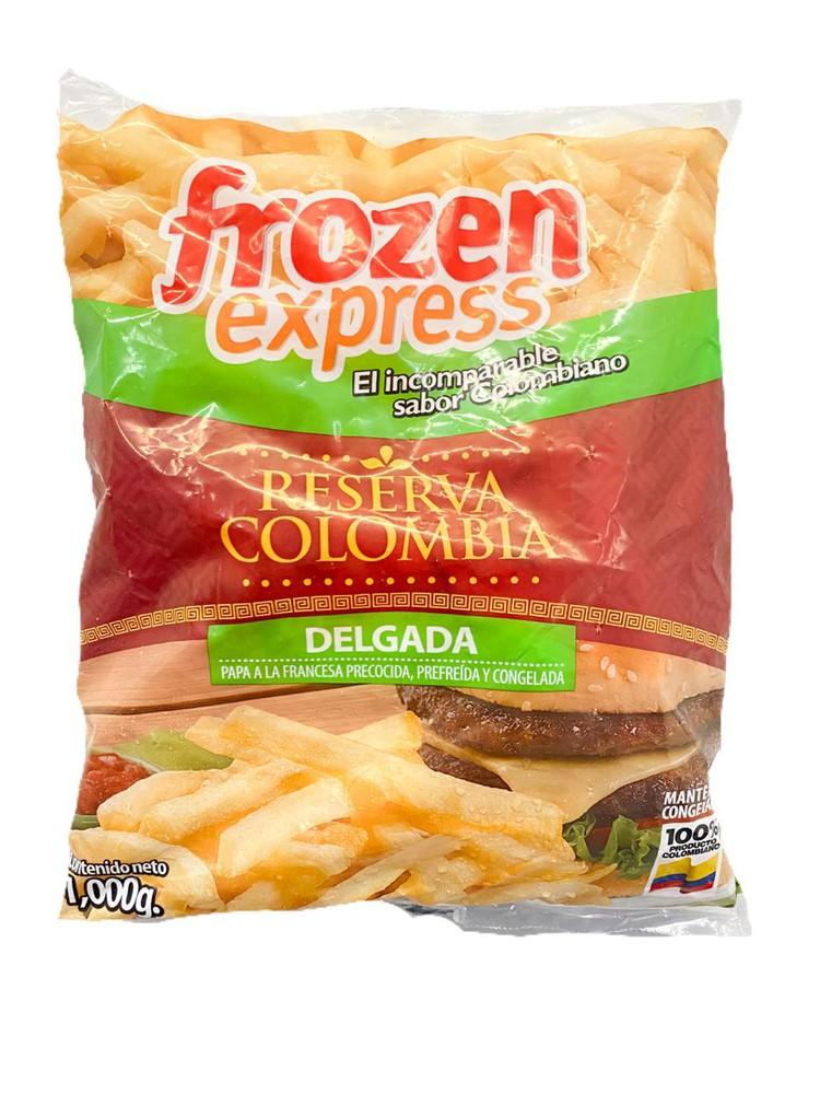 Papa  delgada premium reserva colombia 1 KG