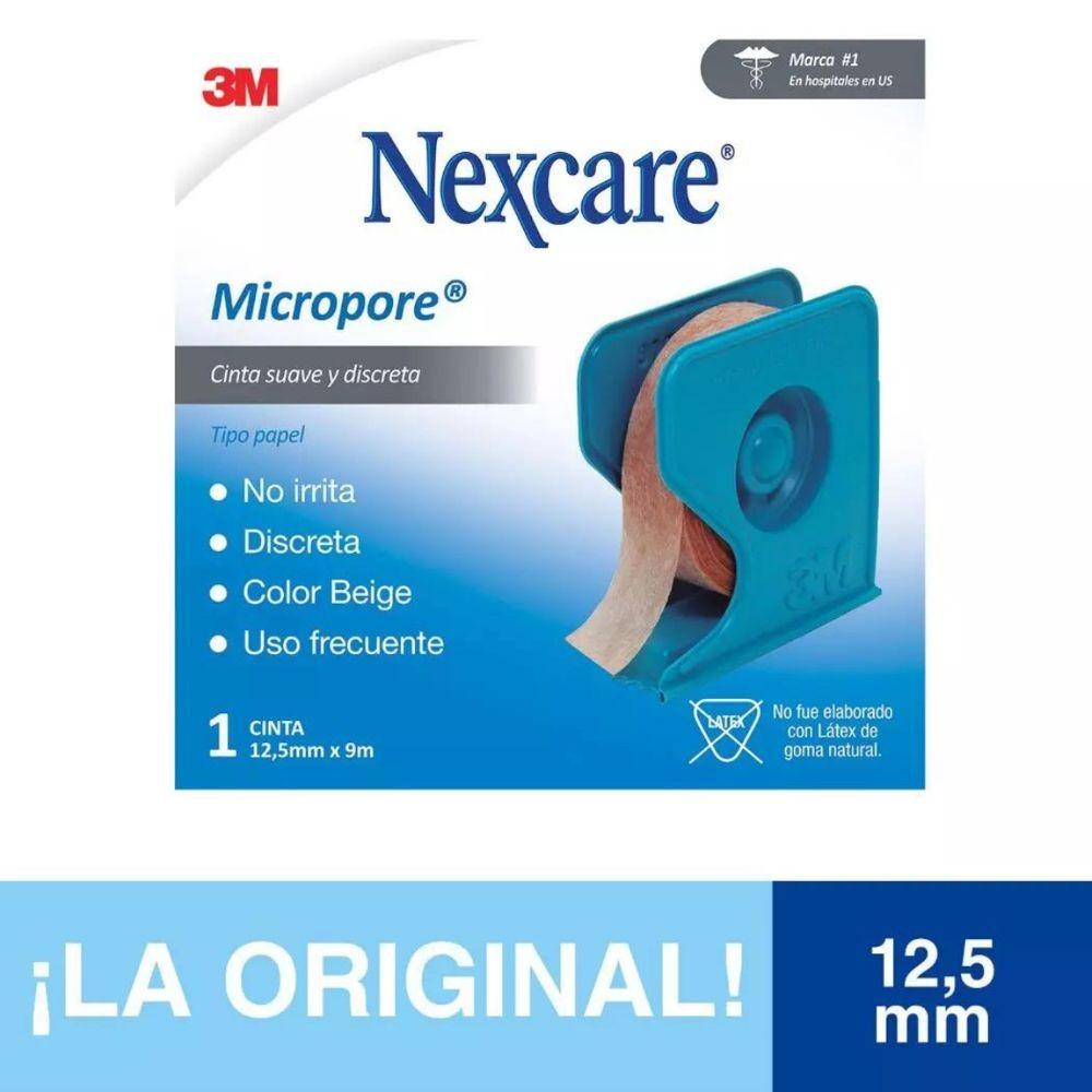Tela adhesiva micropore color piel