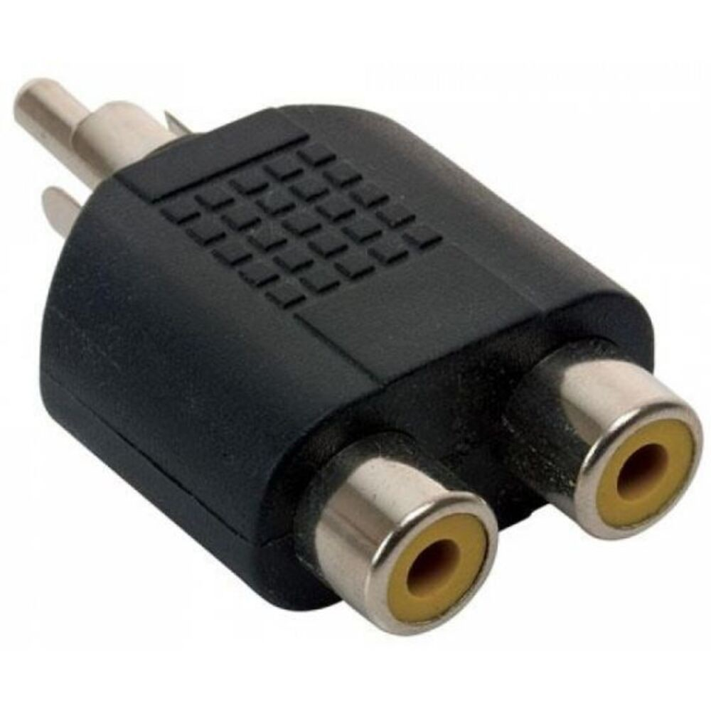 Adaptador sp-2772 plug rca a 2 jack 446236k rca