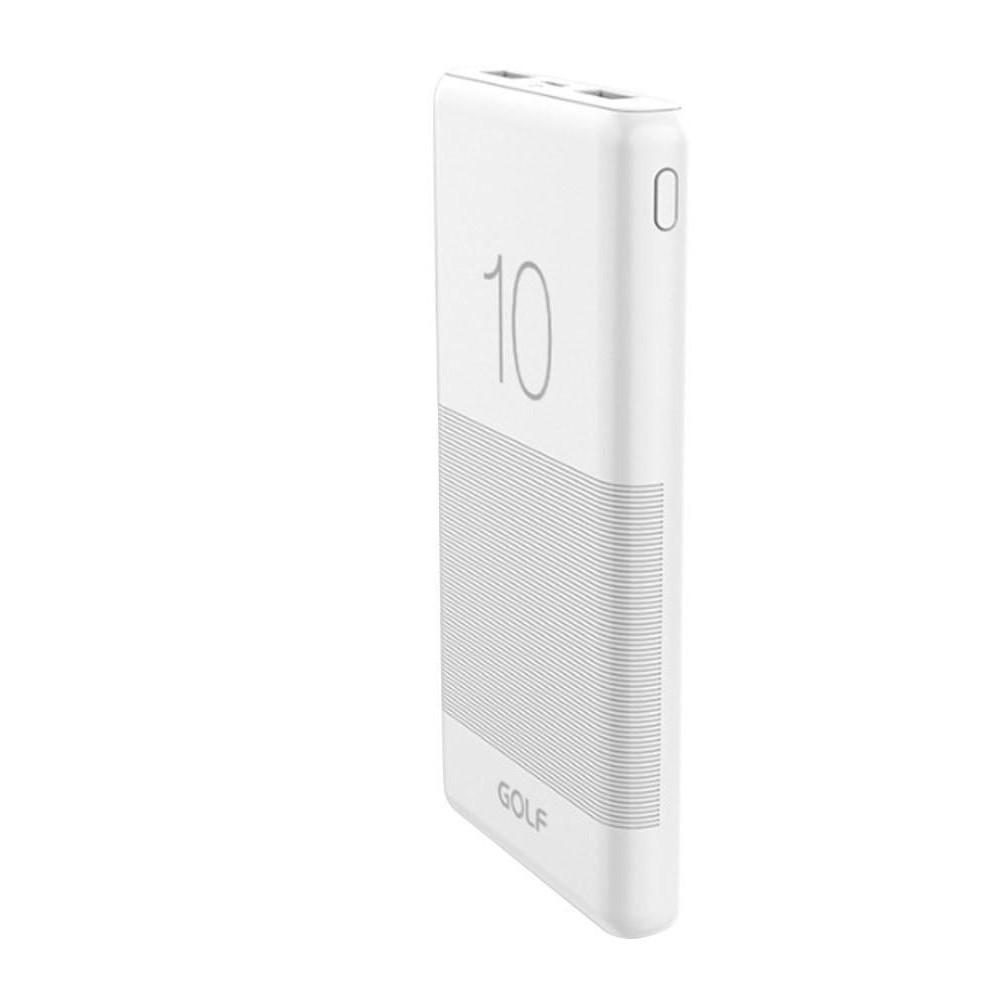 Powerbank portable g80 candy 2usb blanco