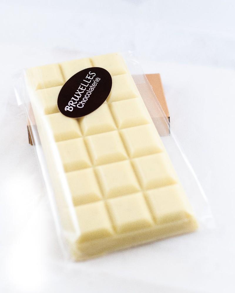 Barra de chocolate blanco