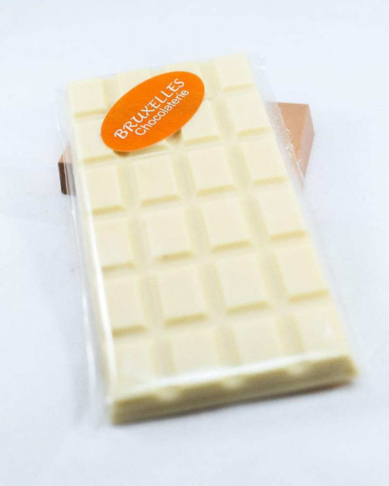 Barra chocolate blanco sin azúcar Barra 110 grs aprox.