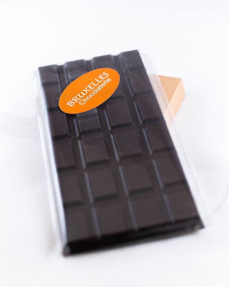 Bruxelles - Barra chocolate semi amargo sin azúcar Barra 110 grs aprox.