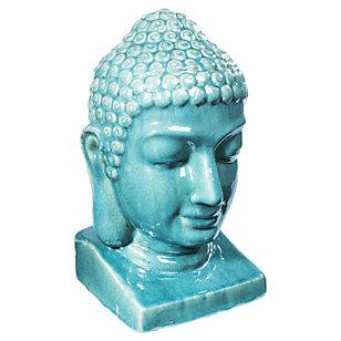 Figura Buda Turquesa 23 x 24 x 40 cm
