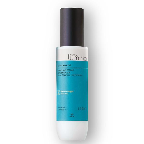 Spray para peinar antipolución