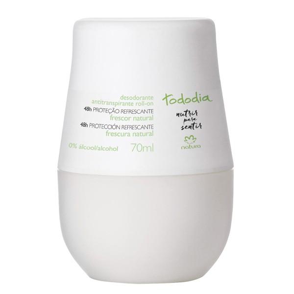 Desodorante antitranspirante roll-on frescura natural 70 ml