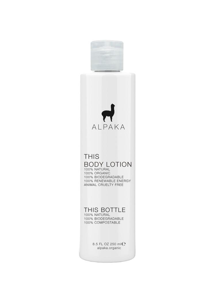 Crema corporal alpaka organic ft Botella 250ml