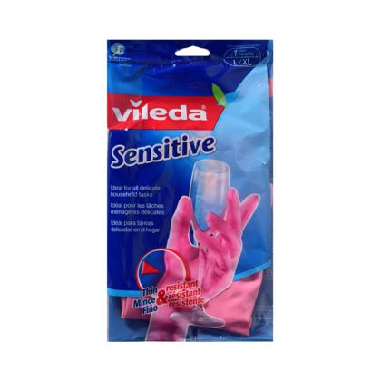 Sensitive dishwashing and cleaning gloves thin & resistant Large/Extra Large Size