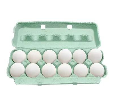 Ovo branco grande 12 unidades