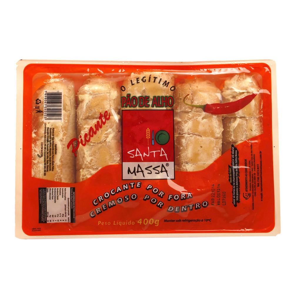 Pão de alho com pimenta