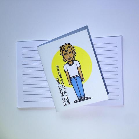 Pocket corchete luis miguel Mide 9x11,5 cms