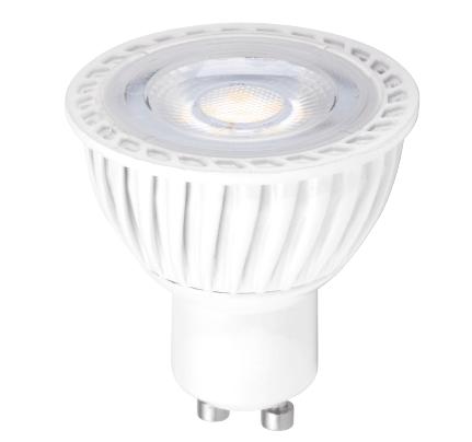 Lámpara led dimeable GU10 (luz cálida) 7W 2700K