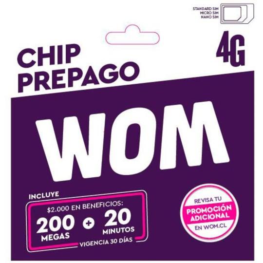 Chip prepago 2019