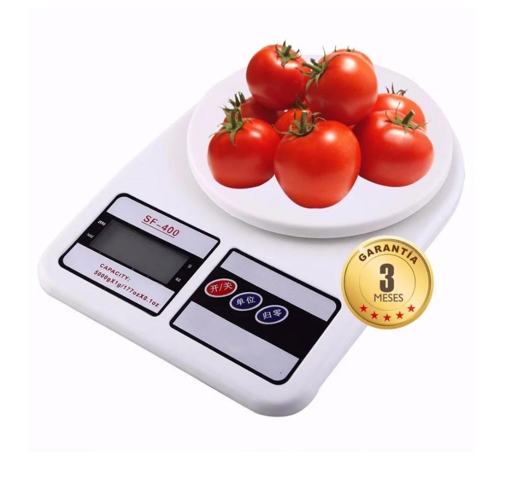 Pesa Balanza de cocina digital 1 g / 7 kilos