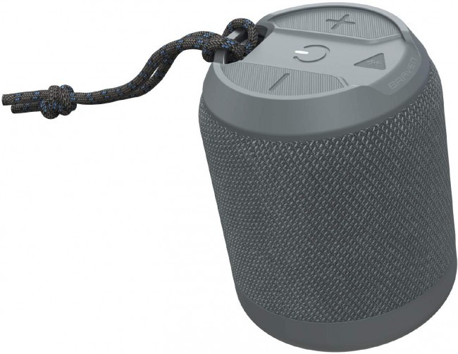 Parlante portátil waterproof braven brv-mini 12 horas gris Unidad
