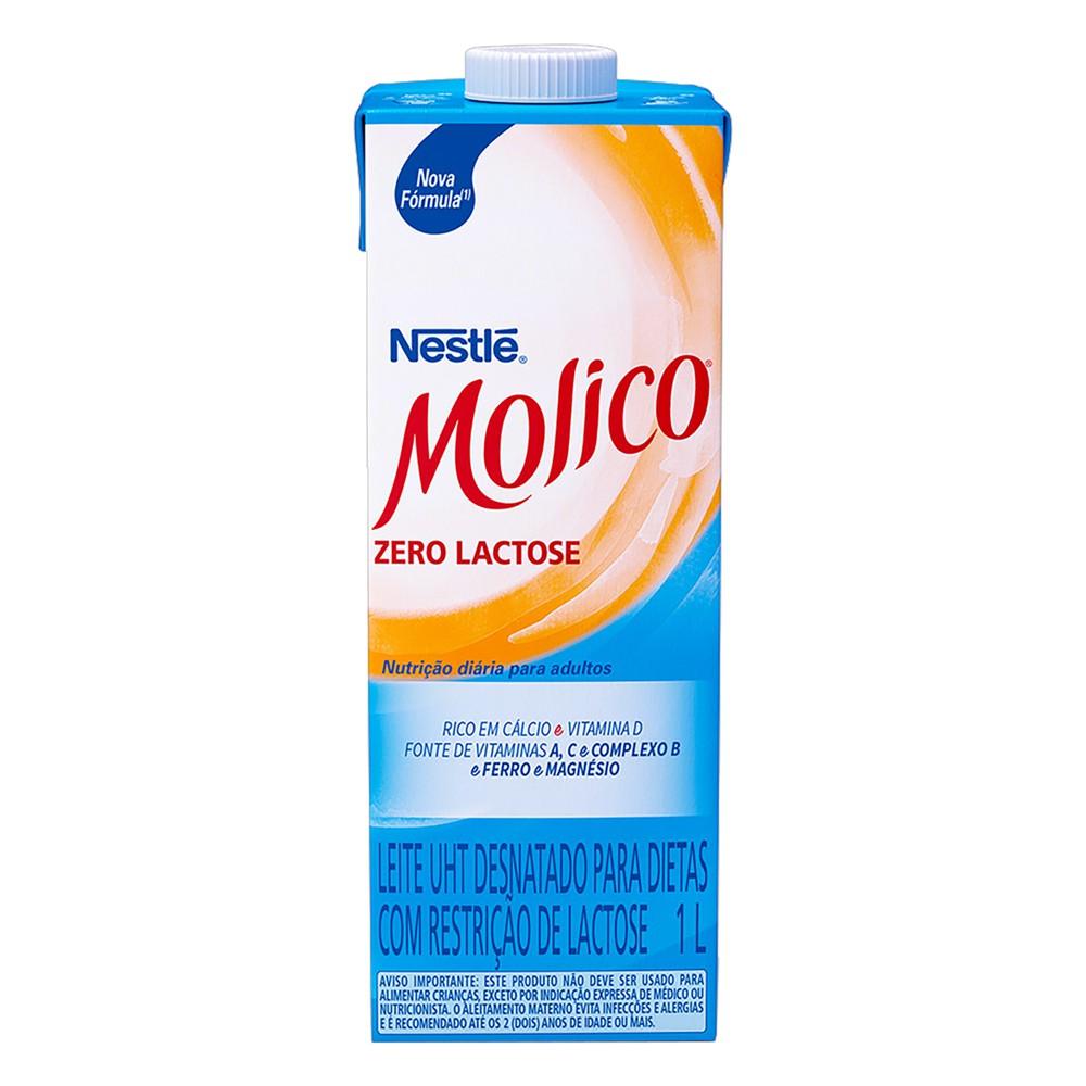 Leite uht desnatado zero lactose