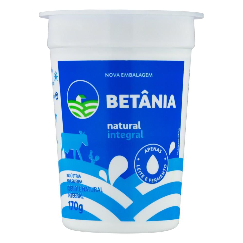 Iogurte natural integral