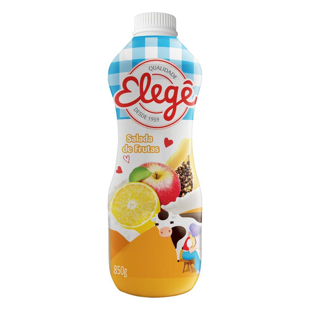 Bebida láctea sabor salada de frutas
