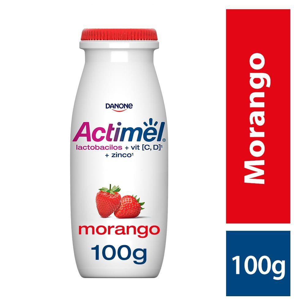 Leite fermentado morango Actimel