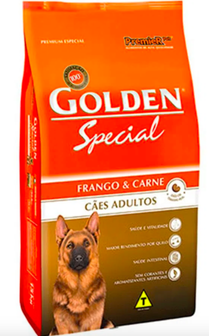 Ração cães special frango e carne adulto 20kg