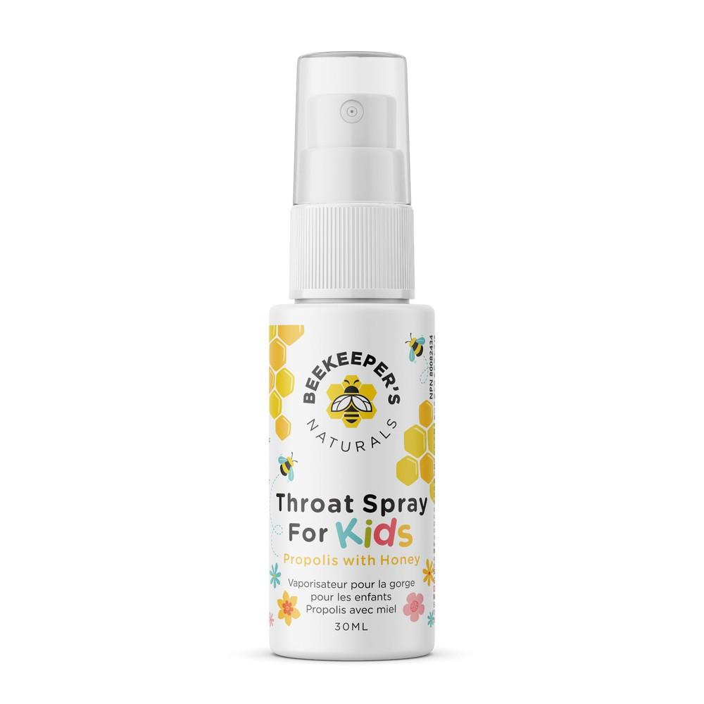 Propolis throat spray for kids