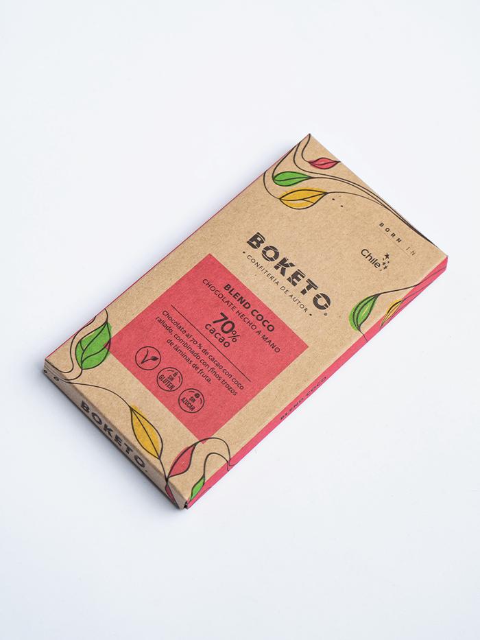 Barra chocolate 70%