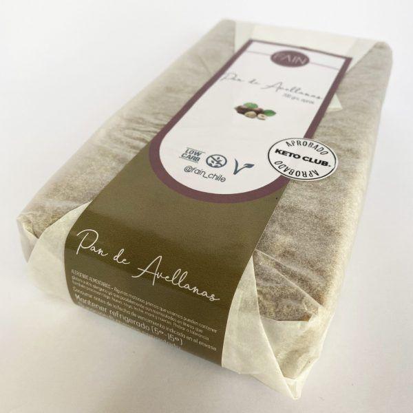 Pan de avellana - vegano - gluten free - keto 700 gr