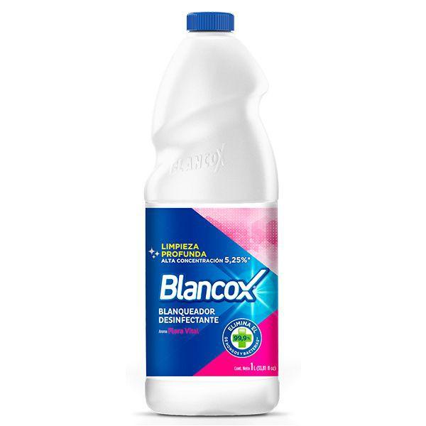 Blanqueador desinfectante flora vital 1 Litro