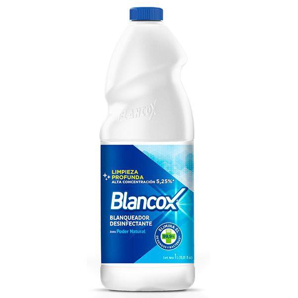 Blanqueador desinfectante poder natural 1L
