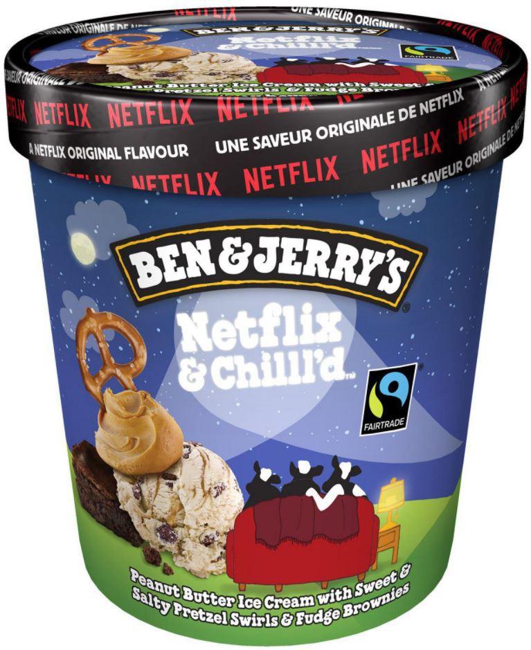 Netflix & chill'd ice cream