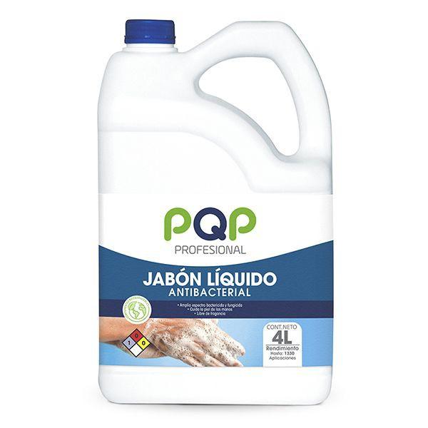 Jabón líquido antibacterial 4000 ML