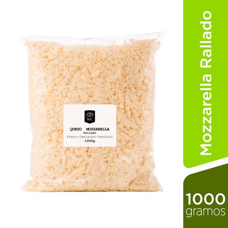 Mozzarella rallado 1 kg Bolsa de 1 Kg