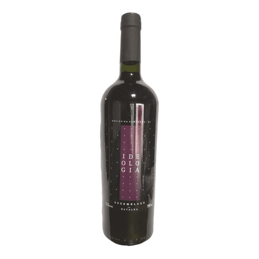 Vinho tinto assemblage