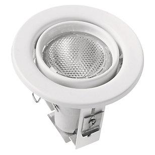 Foco Circular Orientable 1 luz Blanco