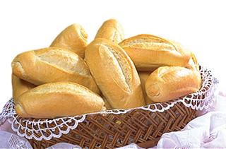 Pão francês assado