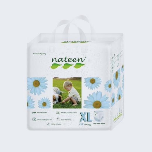 Pañal ecológico premium pull up 2-17 kg