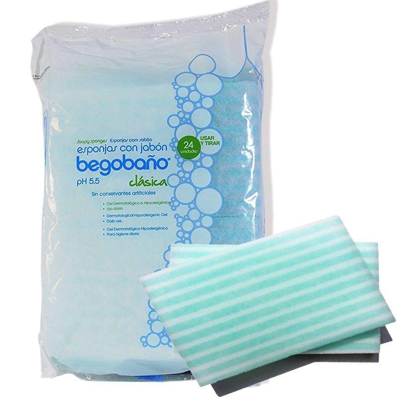 Esponjas con jabón Bolsa 24 Unidades
