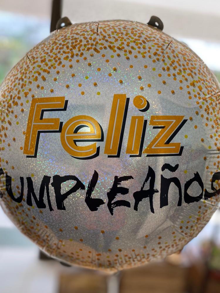 Globo feliz cumpleaños 1 globo