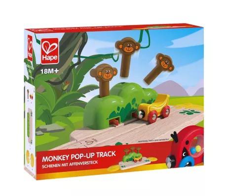Pista aparece el mono Caja de cartón