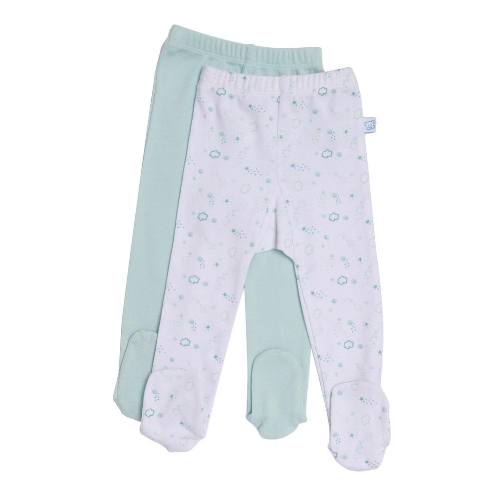 Pack 2 panty bebé niño talla 0m Talla: 0M Color: Celeste